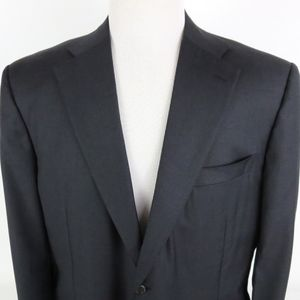 Canali Exclusive 46R 2 Button Suit Jacket Coat - B